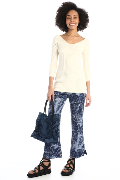 Ribbed knit top Intrend