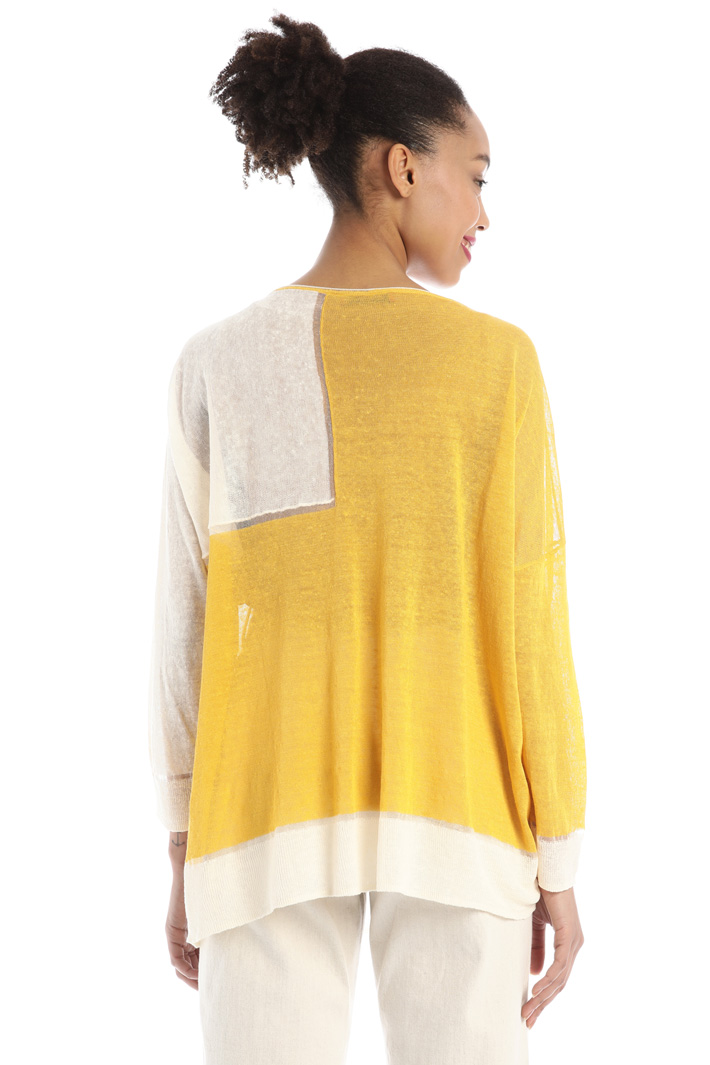 Oversized linen sweater Intrend
