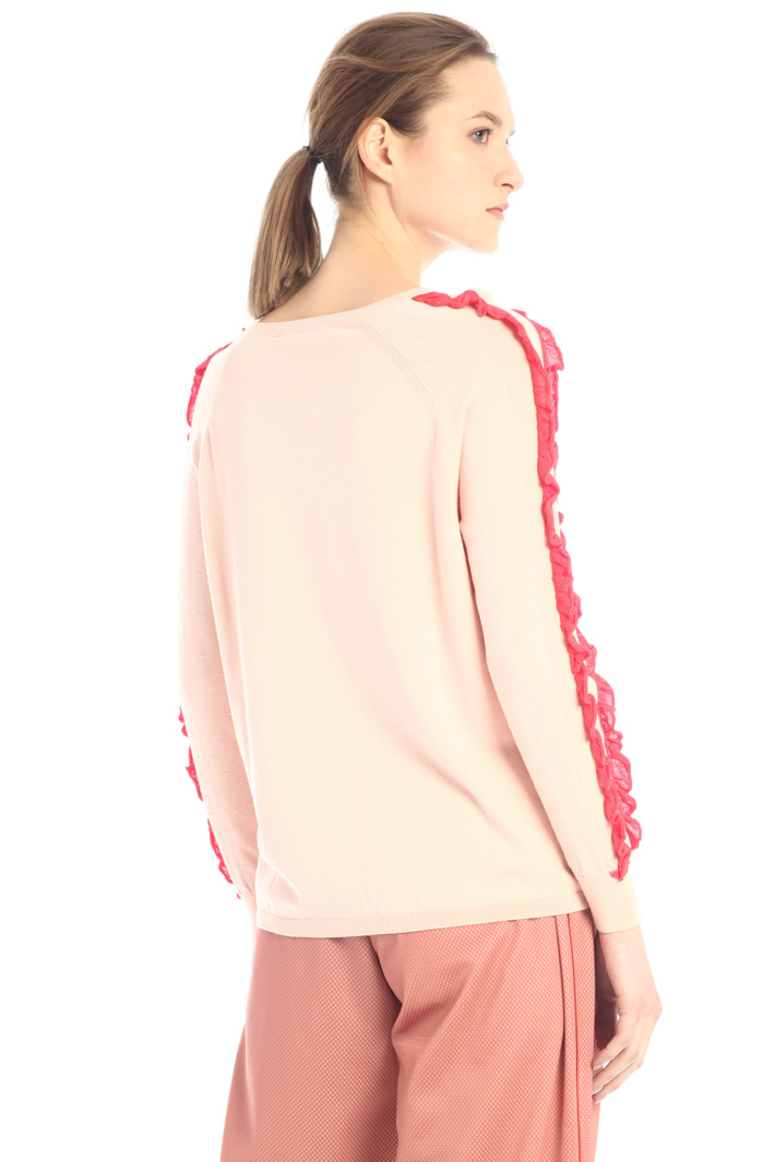 Swearer with ruffles  Intrend