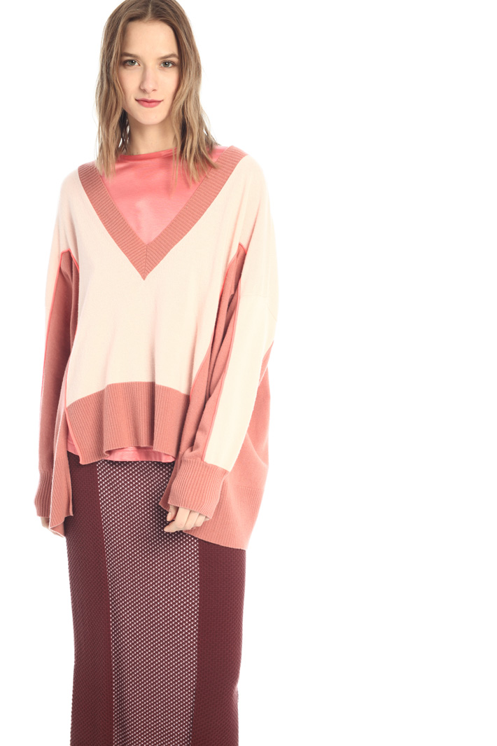Oversized sweater in cashmere Intrend