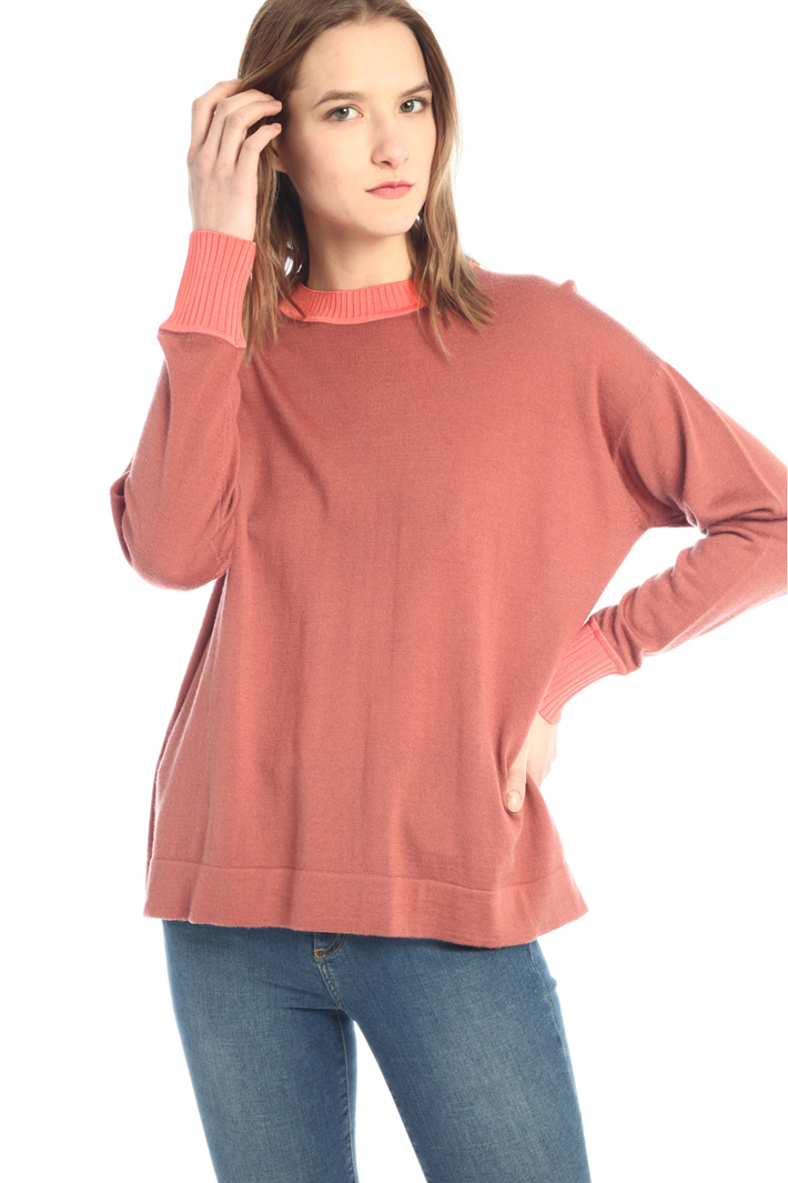 Pure merino wool sweater  Intrend