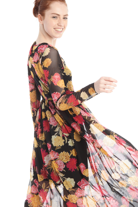 Printed tulle dress Intrend