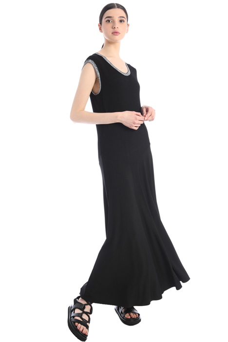 Ribbed jersey dress Intrend