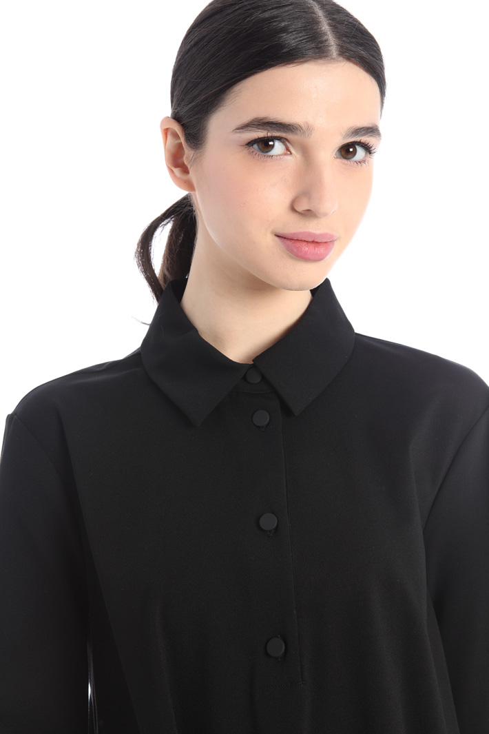 Jersey polo dress Intrend