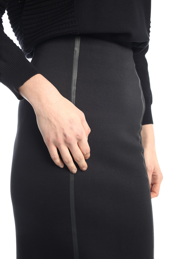 Pencil skirt with rubber trim  Intrend
