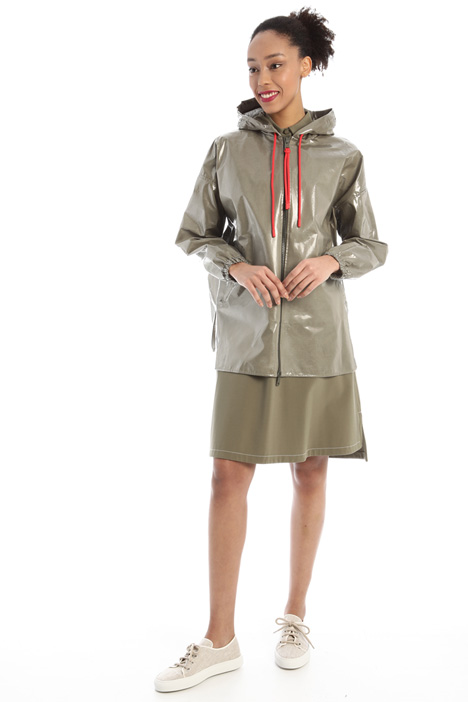 Coated jersey jacket Intrend