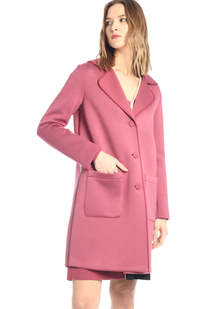 Compact jersey coat Intrend