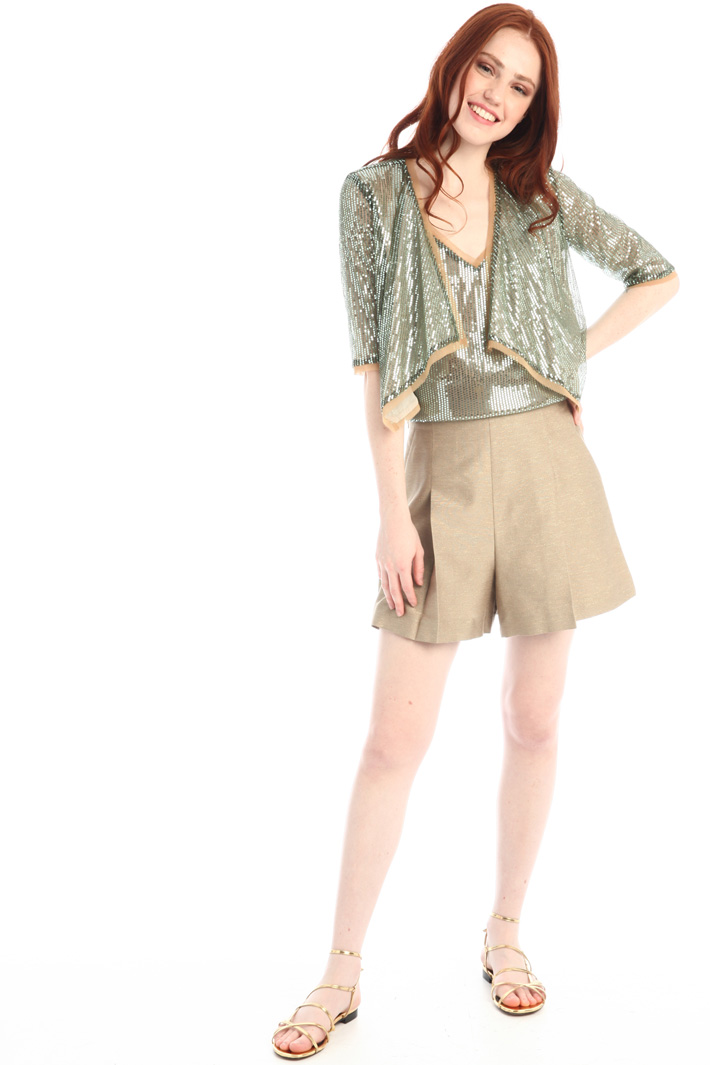 Short sequinned tunic Intrend