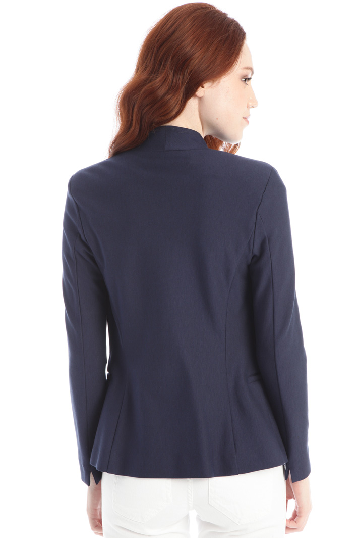 Compact jersey blazer Intrend