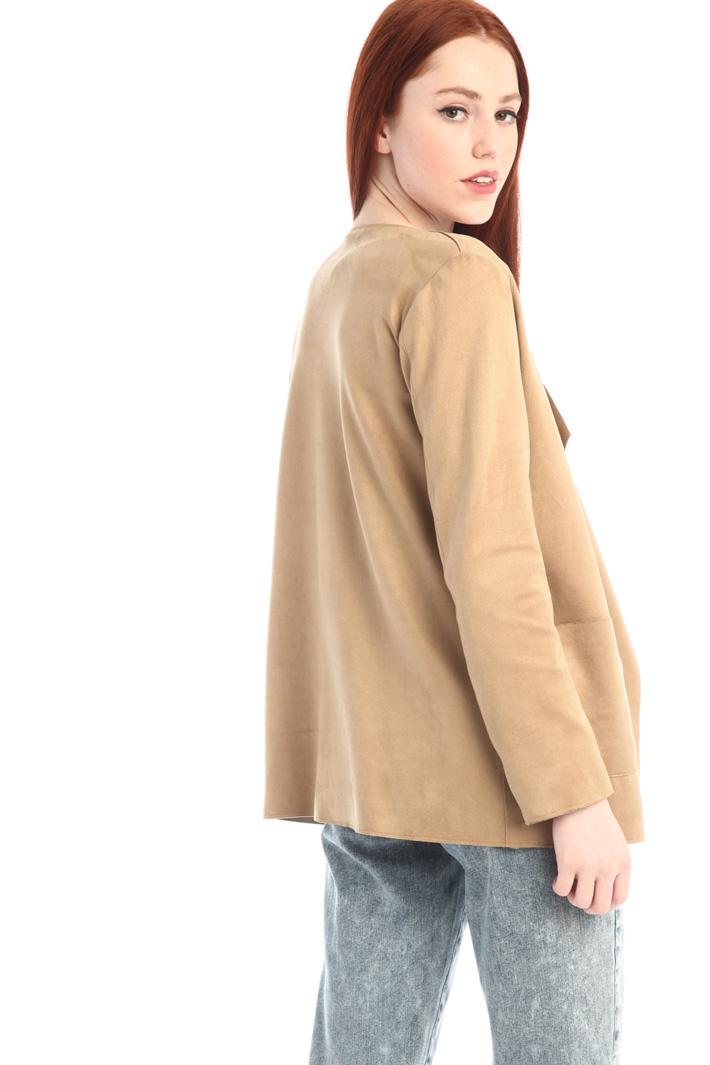 Suede-effect duster coat Intrend