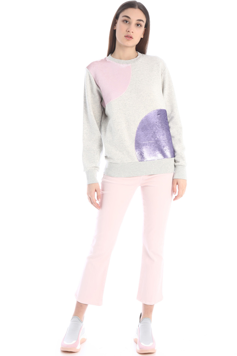 Sequinned sweatshirt Intrend