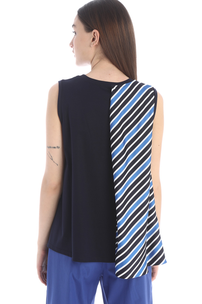 Top with printed panel Intrend