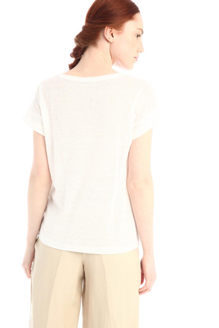 Linen T-shirt Intrend