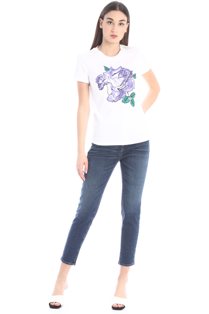 Sequinned T-shirt Intrend
