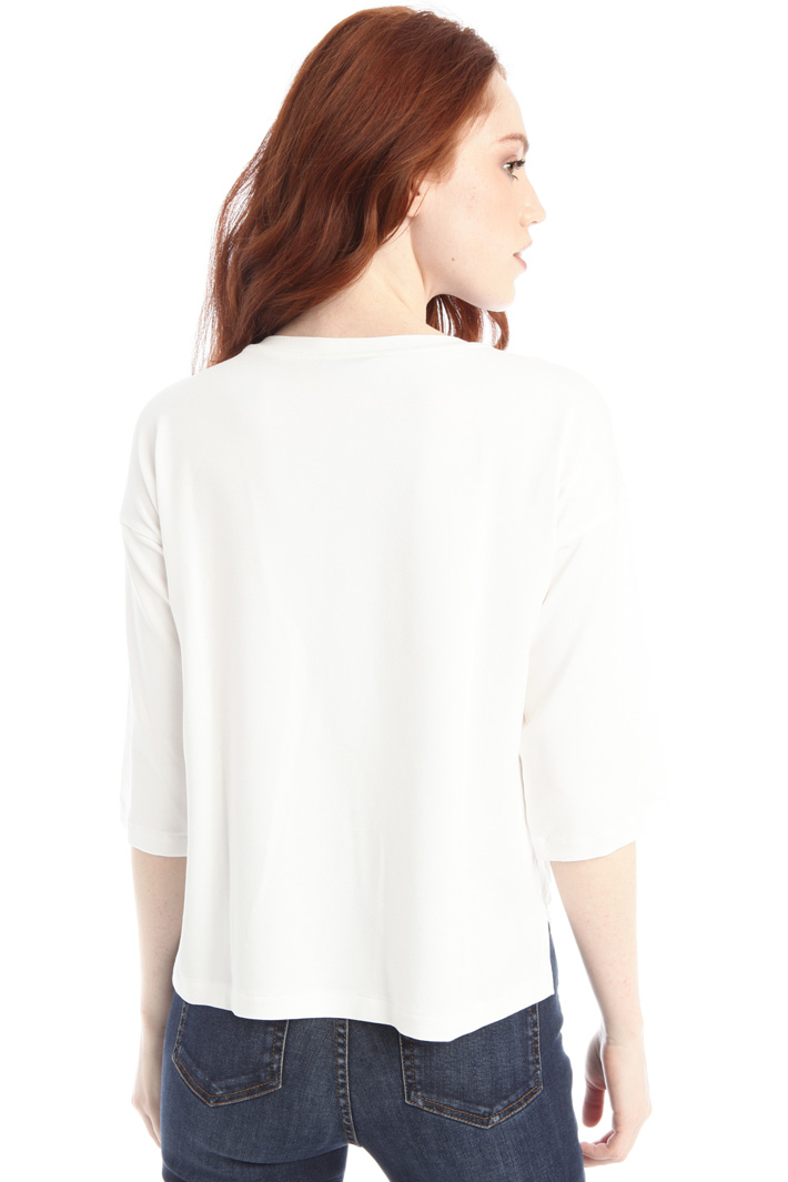 Oversized jersey T-shirt Intrend