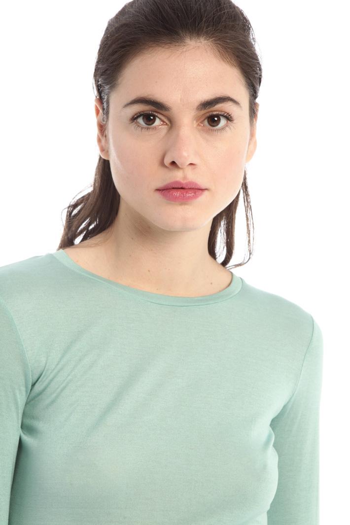 Pure silk jersey T-shirt  Intrend