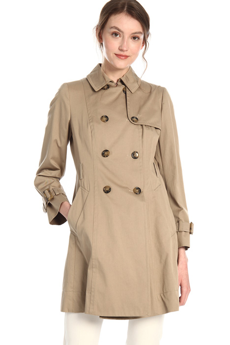 Cotton gabardine with trench Intrend