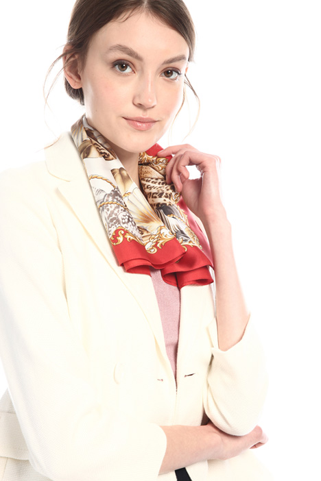 Foulard in twill stampato Intrend