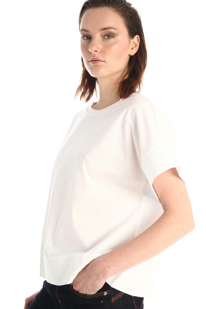Boxy jersey T-shirt Intrend