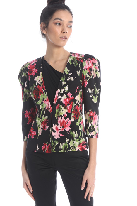 Printed ottoman jacket Intrend