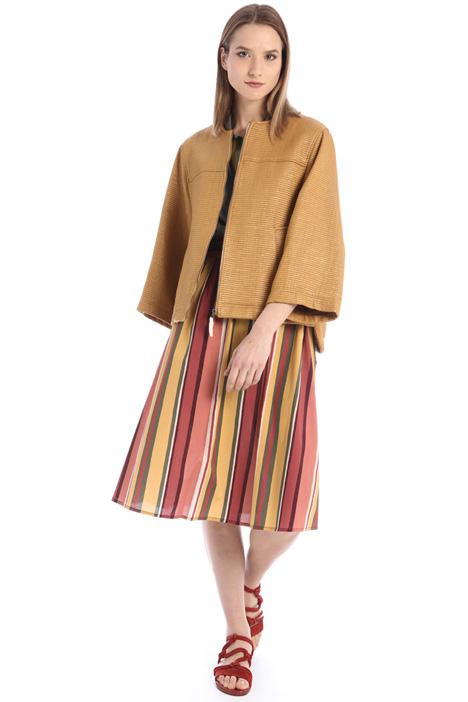 Raffia-effect jacket Intrend