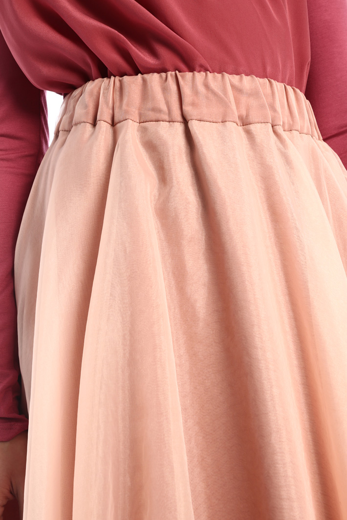 Double-layer organza skirt Intrend