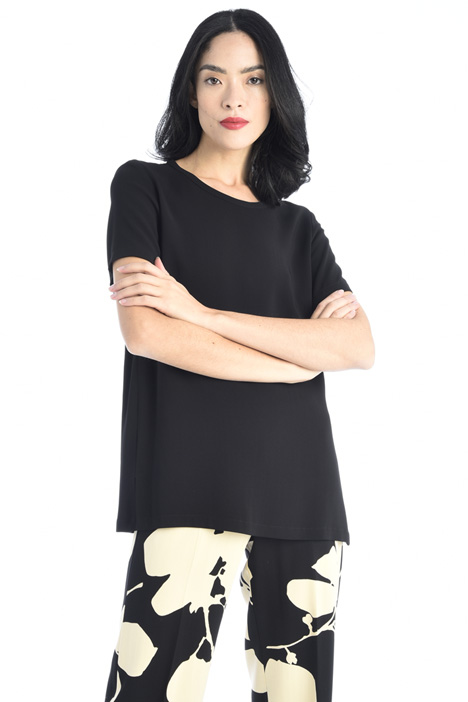 Viscose cady T-shirt Intrend