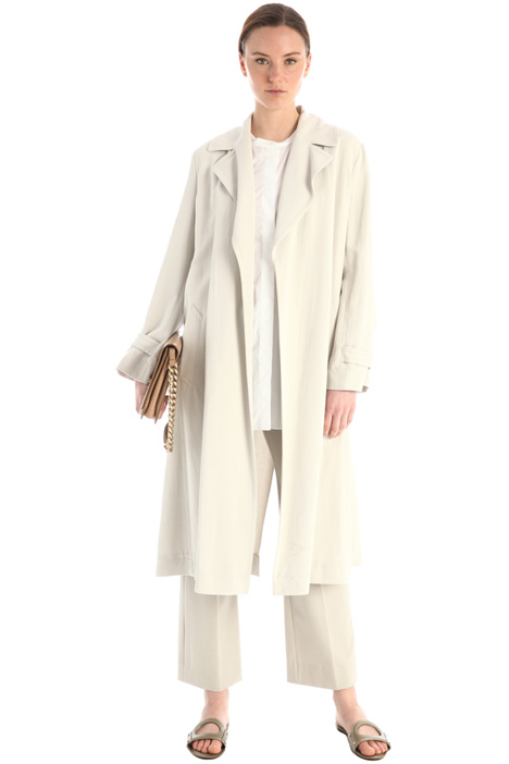 Trench-style duster coat Intrend