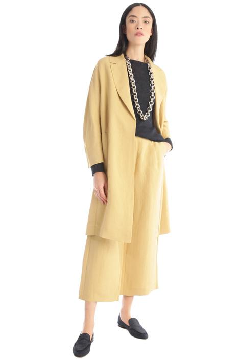 Linen duster coat Intrend