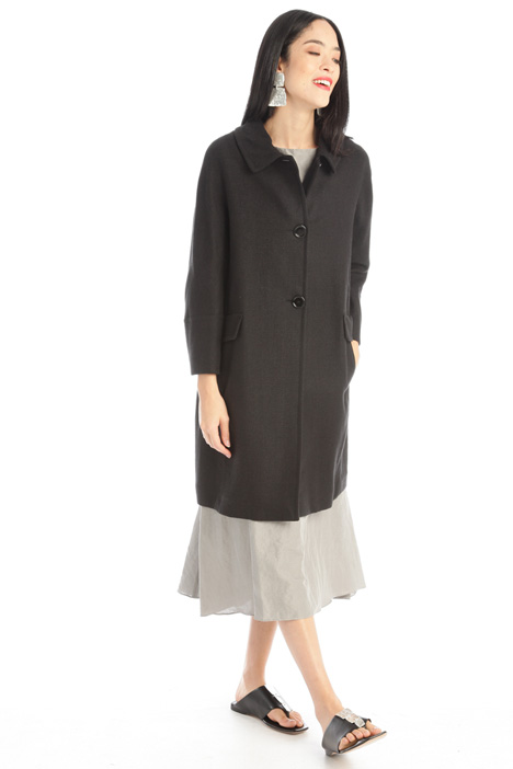 Woven duster coat Intrend