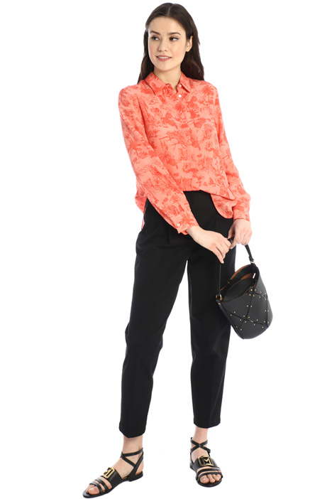 Carrot-fit trousers Intrend