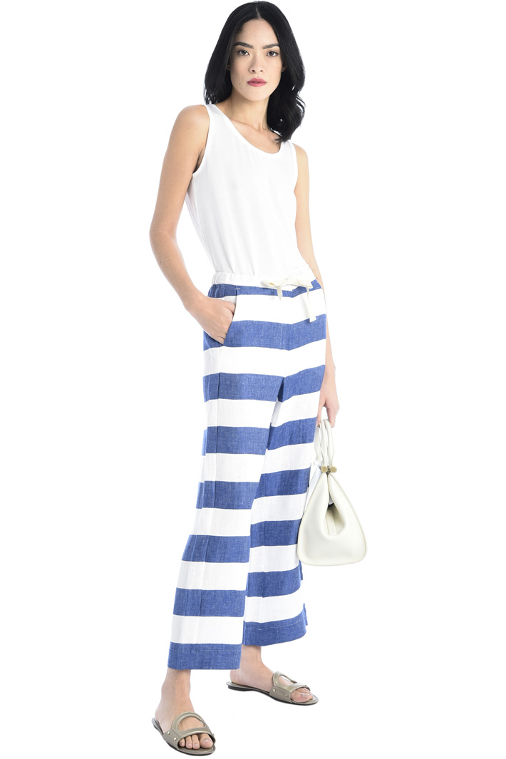 Soft canvas trousers Intrend