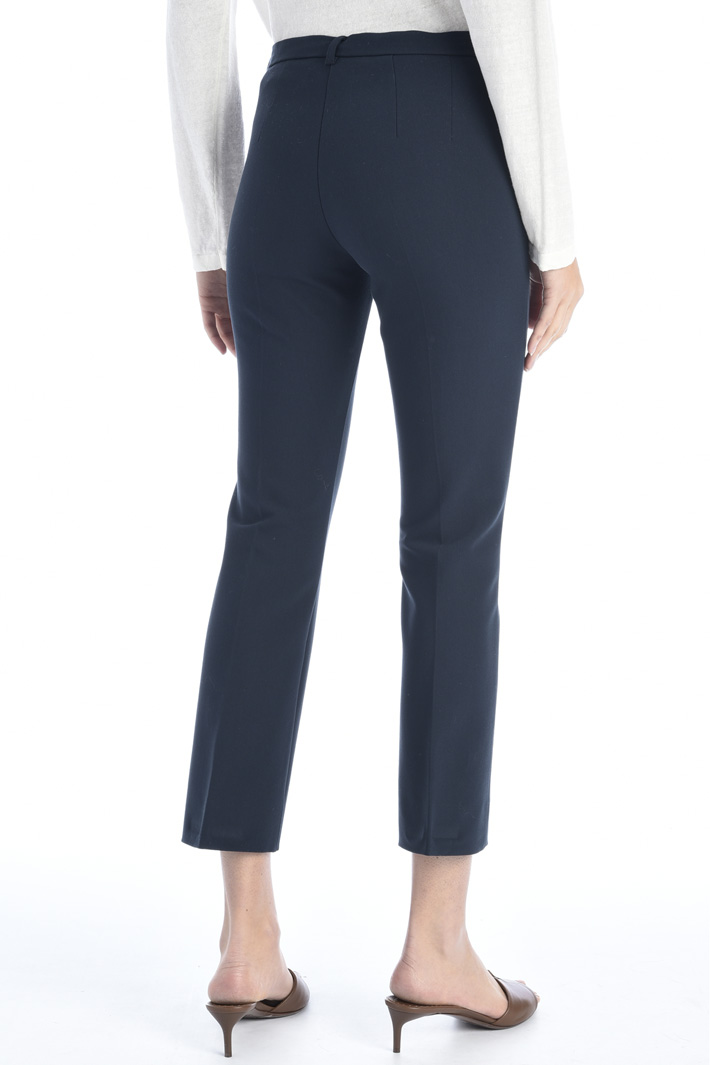 Cotton and viscose trousers Intrend