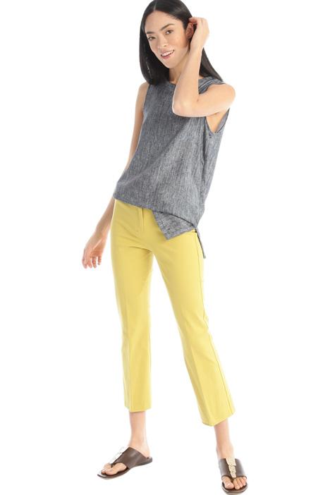 Stretch gabardine trousers Intrend