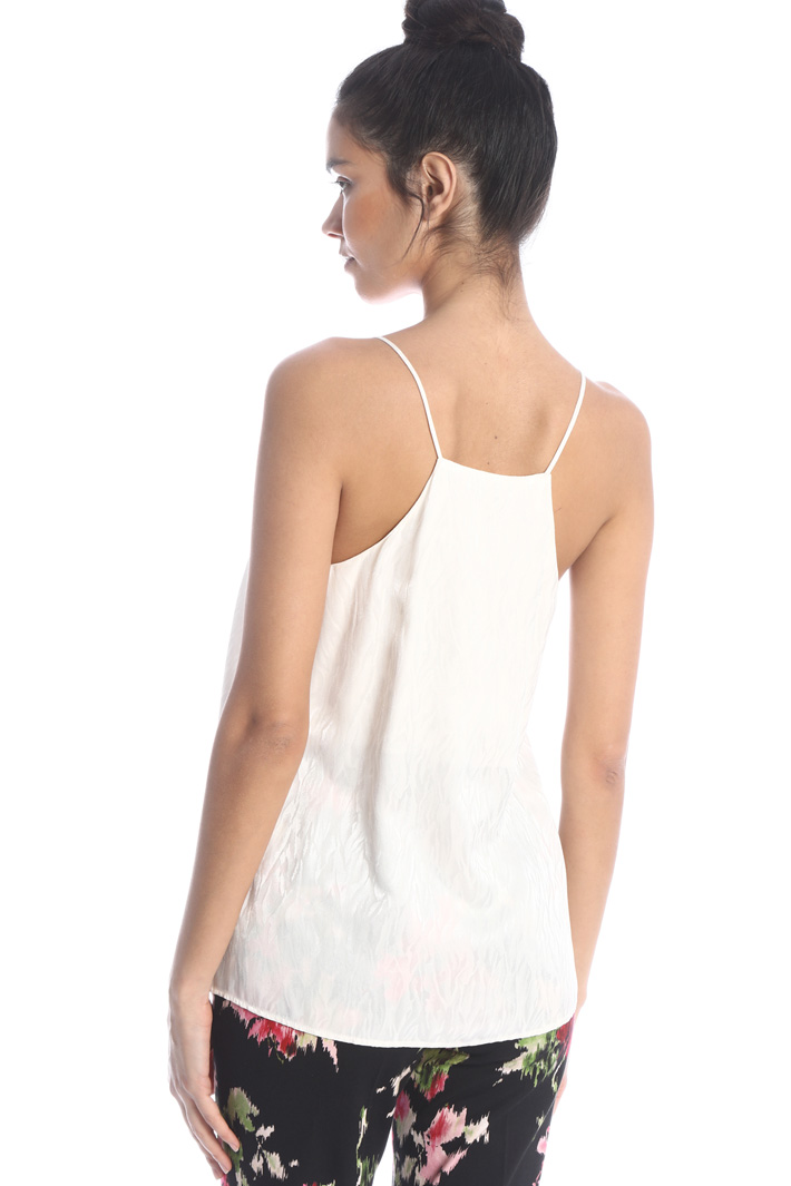 Satin moire top Intrend