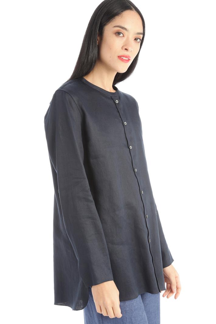 Compact satin shirt Intrend
