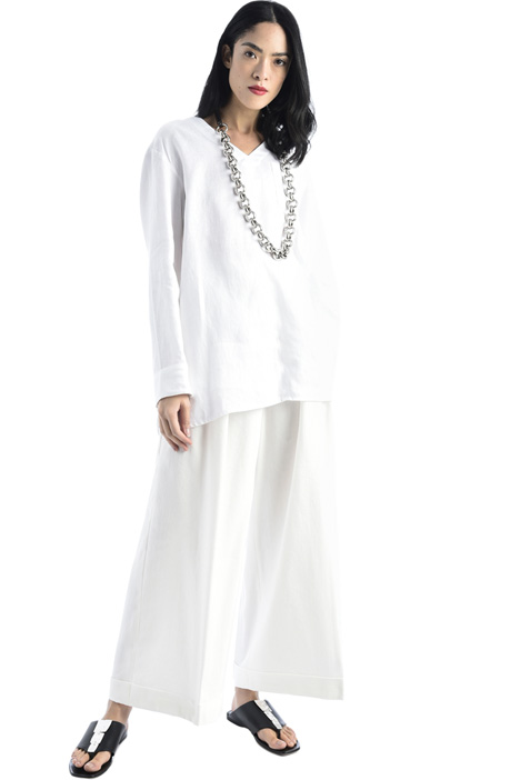 Linen satin tunic Intrend