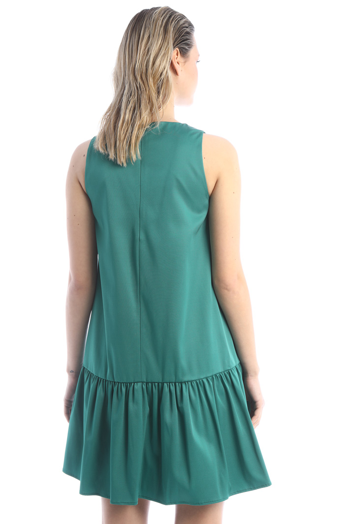 Dress with flounce Intrend