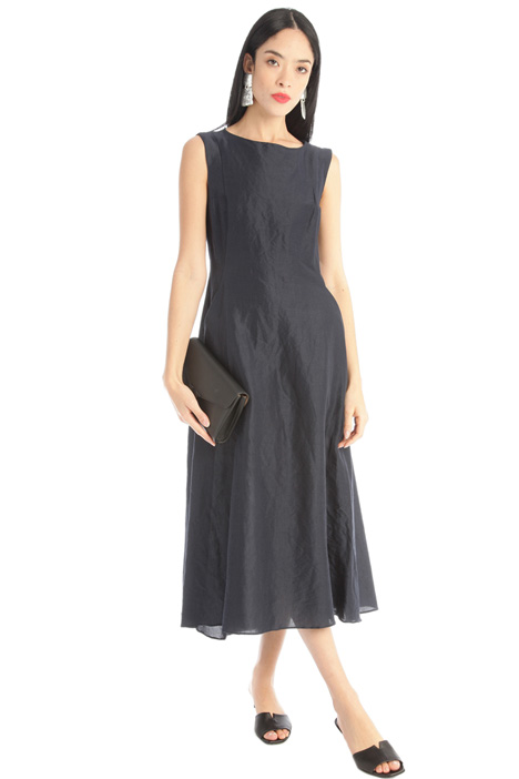 Cotton canvas dress Intrend