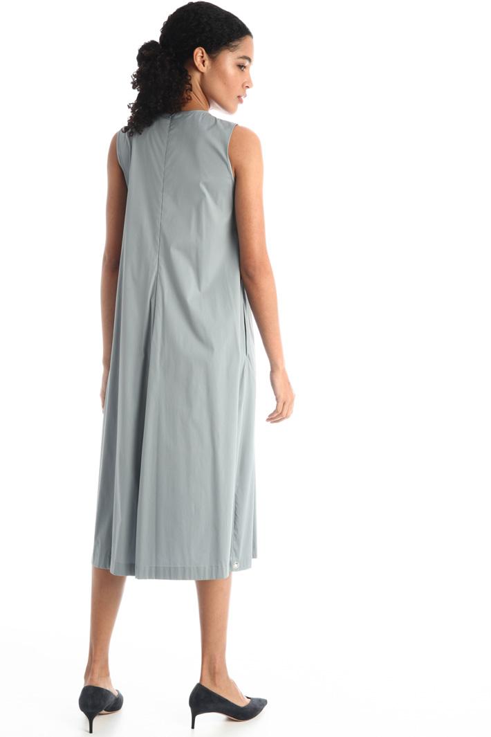 Pleated poplin dress Intrend