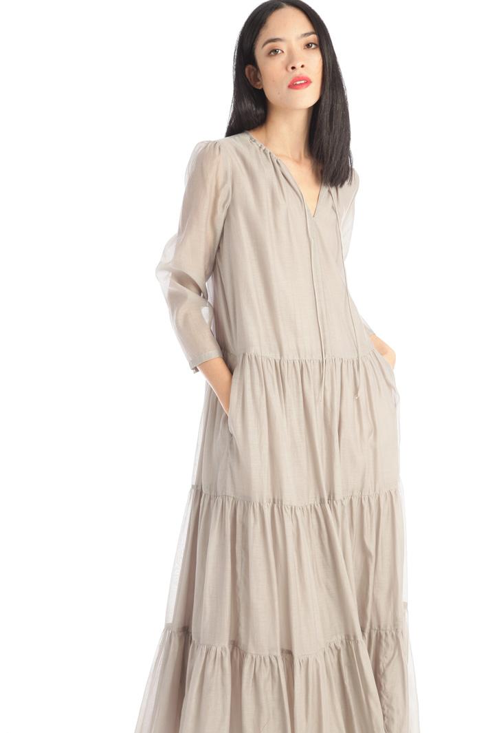 Voile silk blend dress Intrend