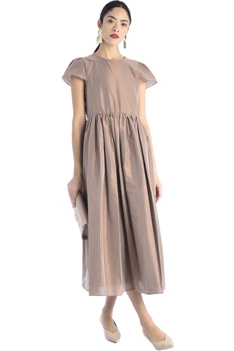 Cotton taffeta dress Intrend