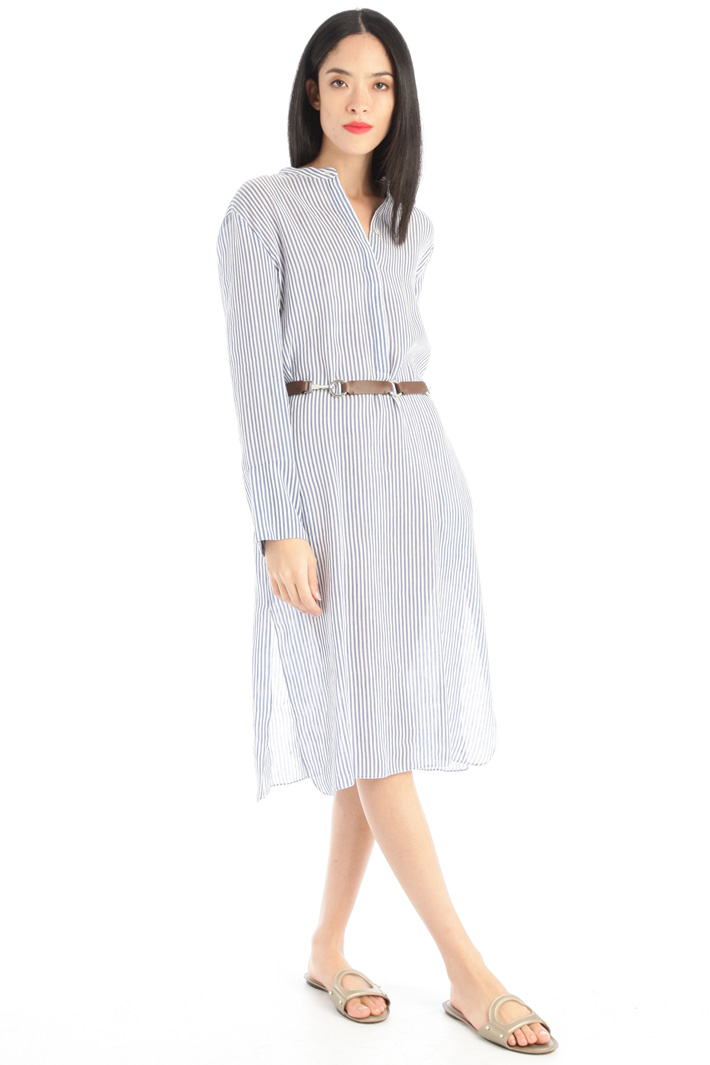 Muslin tunic dress Intrend