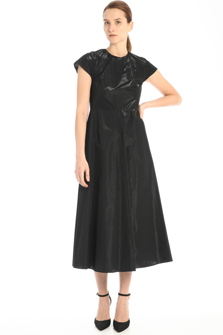 Short sleeved tech dress Intrend