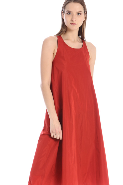 Dress with organza inserts Intrend