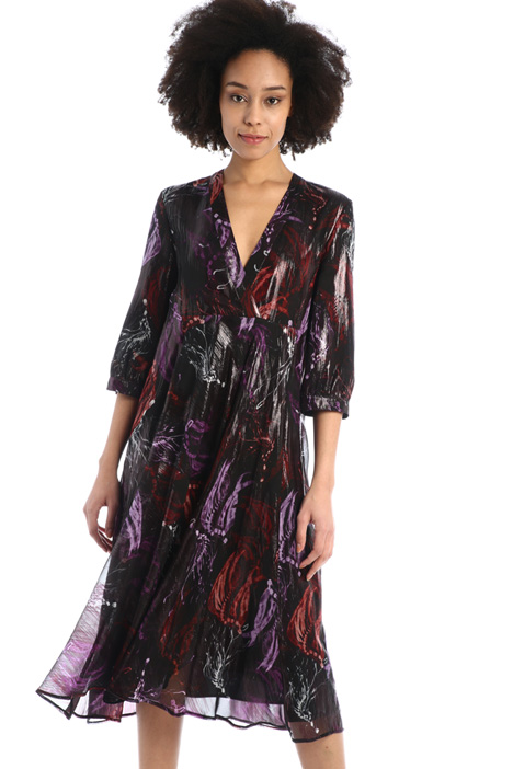 Fluid crepe dress Intrend
