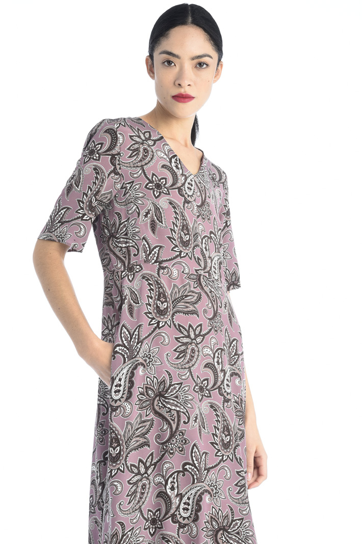 Silk crepe de chine dress Intrend