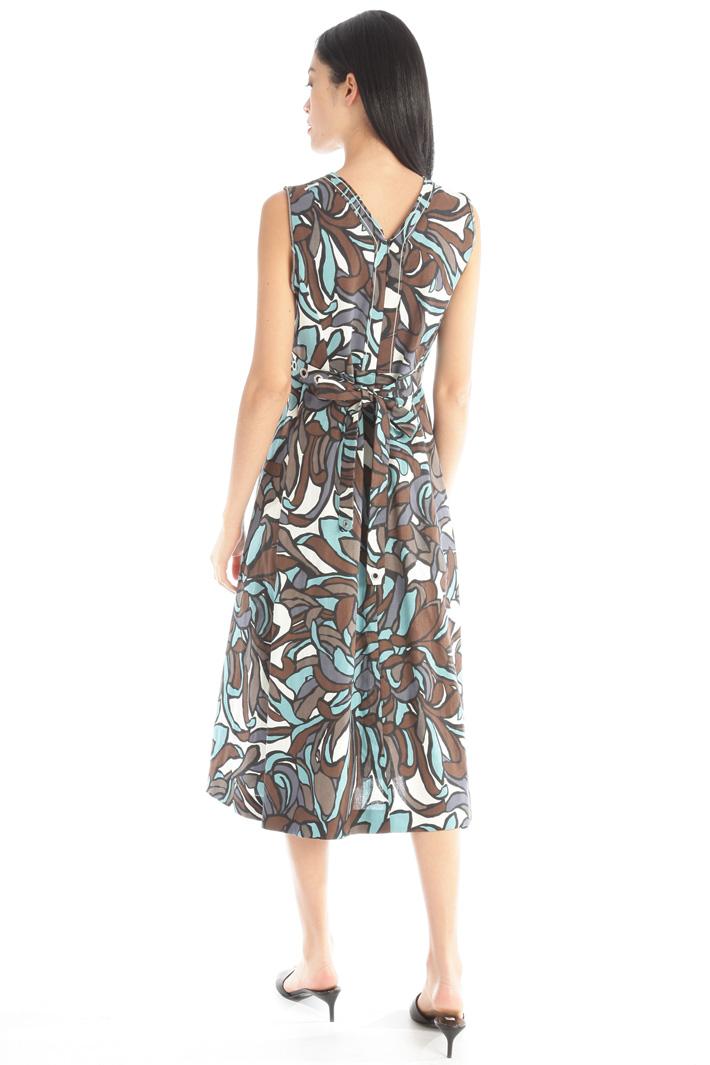 Linen canvas dress Intrend