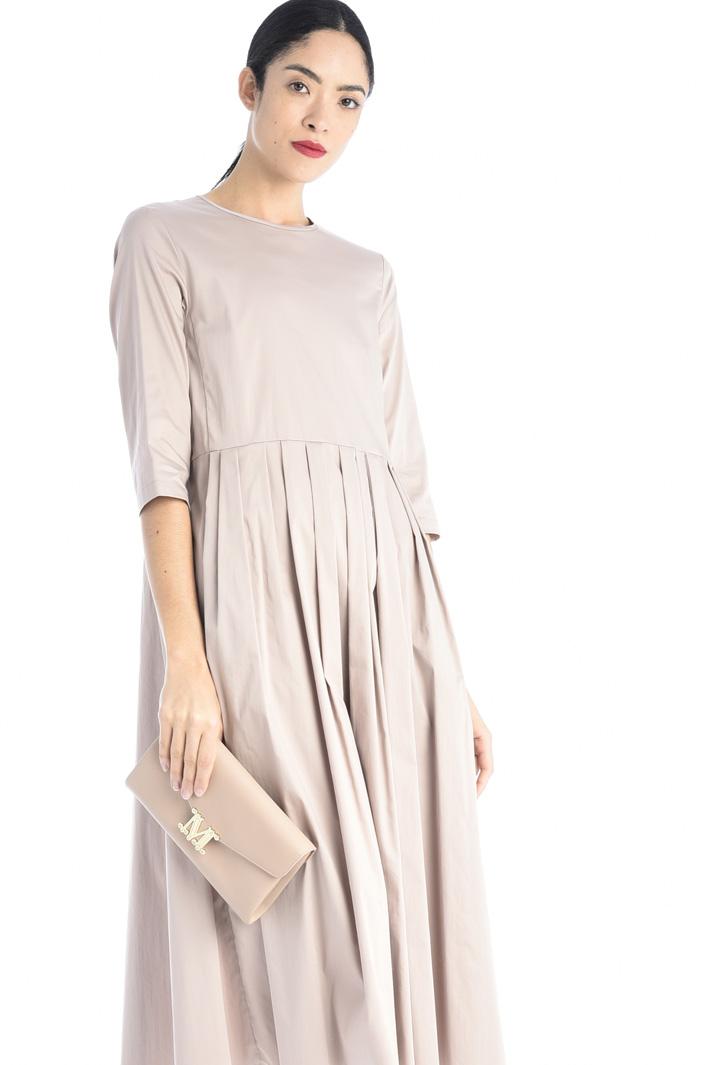 Cotton satin dress Intrend