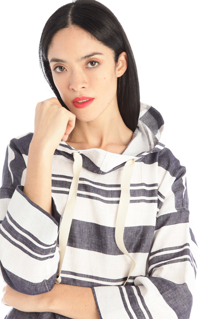 Linen canvas tunic Intrend